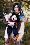 Everybody loves a cats - Yuffie and Cait Sith