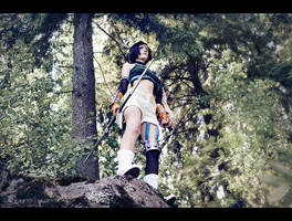 Yuffie: Ninjas never fear by Narga-Lifestream