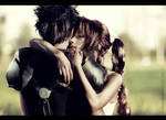 Zack and Aerith: I'll never let you go