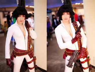 Lady - Alternate costume from DMC3 by Narga-Lifestream