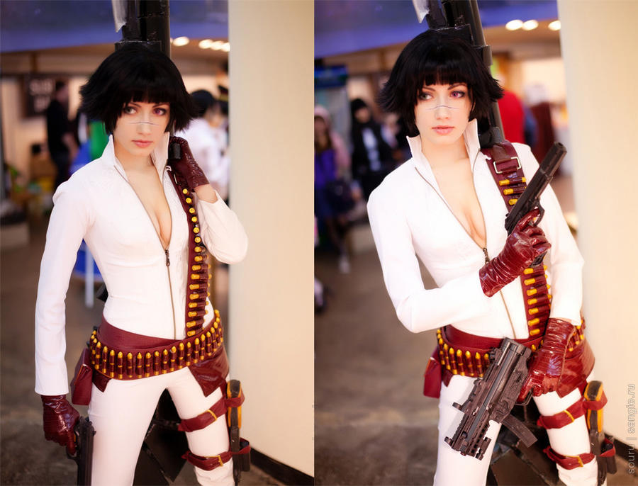 Lady - Alternate costume from DMC3 by Narga-Lifestream