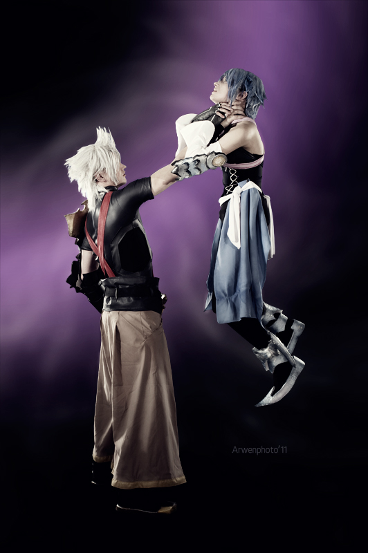 Terra and Aqua - Kingdom Hearts by Narga-Lifestream
