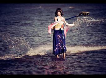 Final Fantasy X - Yuna - Follow my hand by Narga-Lifestream