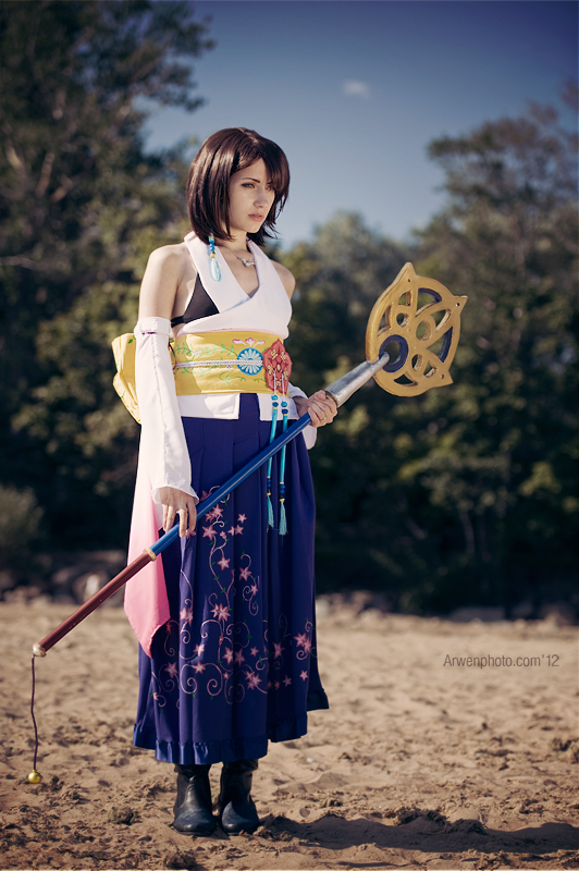 Yuna (Final Fantasy X) by Narga-Lifestream