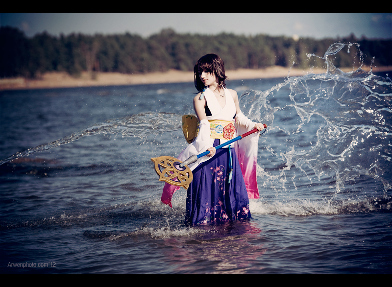 Final Fantasy X - Yuna - Summoning by Narga-Lifestream