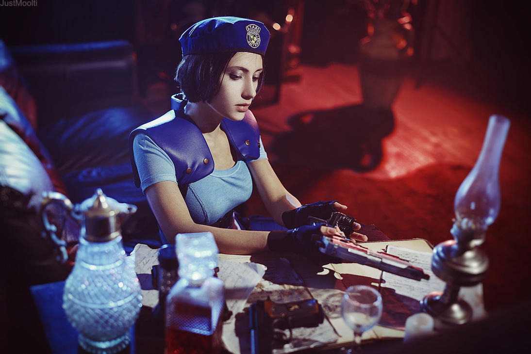 Jill Valentine by Narga-Lifestream