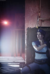 Jill Valentine: Something is amiss...