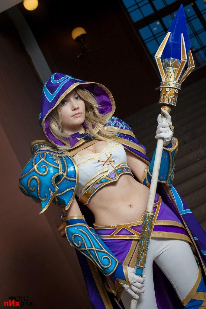 Warcraft III: Meet miss Jaina Proudmoore by Narga-Lifestream