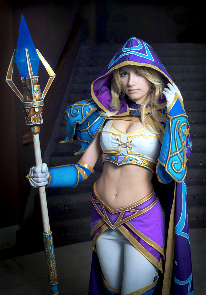 Warcraft III: Jaina Proudmoore by Narga-Lifestream