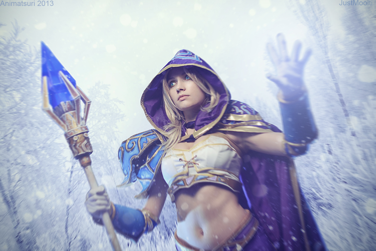 Warcraft III - Jaina Proudmoore: Blizzard spell by Narga-Lifestream