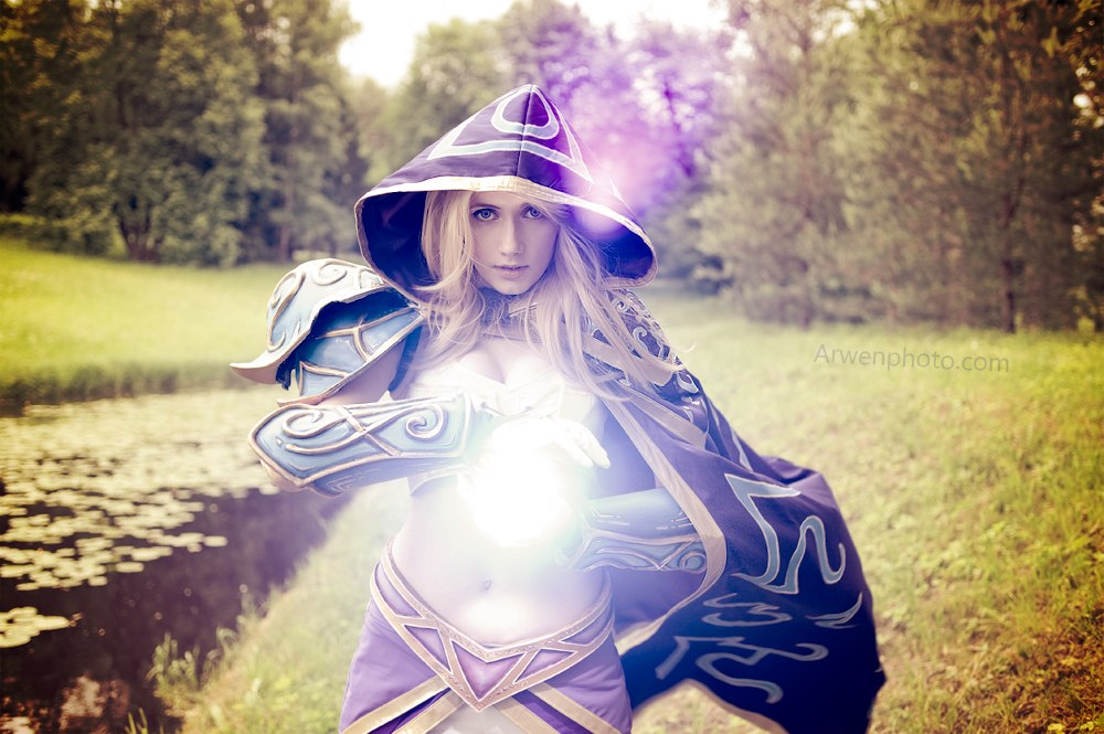Warcraft III - Jaina Proudmoore: Spell cast by Narga-Lifestream