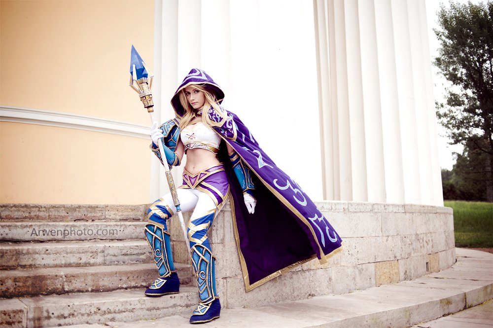 Warcraft III - Sorceress Jaina Proudmoore by Narga-Lifestream
