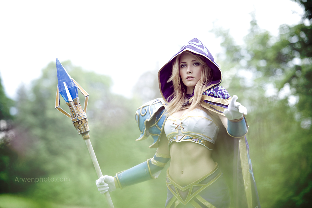 Jaina Proudmoore, special agent to the Kirin Tor by Narga-Lifestream