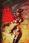Alexstrasza, Queen of the Dragons
