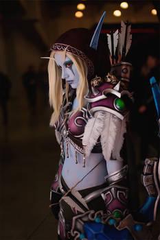 Lady Sylvanas cosplay