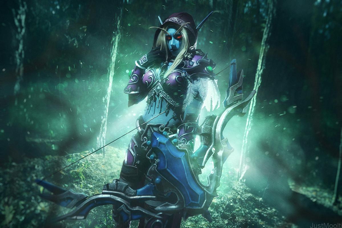 Sylvanas Windrunner - Banshee Queen by Narga-Lifestream