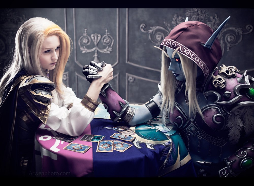 Jaina and Sylvanas - Alliance and Horde by Narga-Lifestream