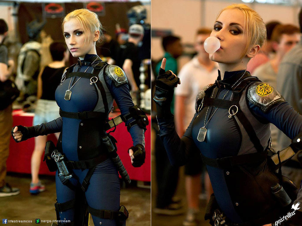 Cassie Cage cosplay by Narga-Lifestream