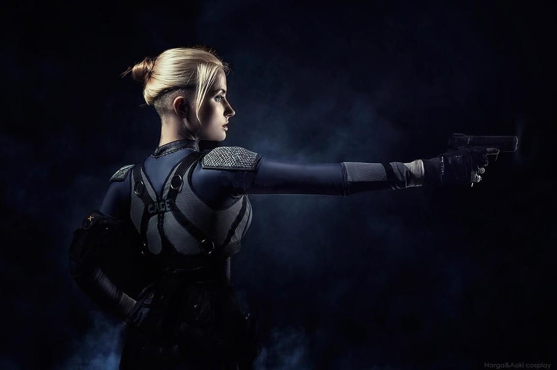 Mortal Kombat X: Cassie Cage (BETA) by JhonatasBatalha on