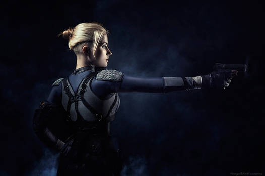 Mortal Kombat X - Cassie Cage cosplay