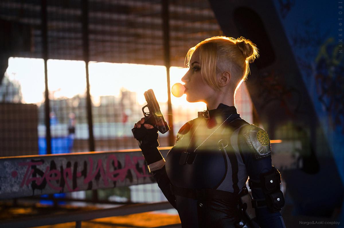 Mortal Kombat X - Cassie Cage cosplay by Narga-Lifestream