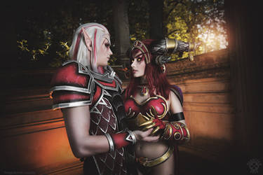 WoW - Krasus and Alexstrasza cosplay