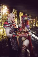 World of Warcraft - Dragon love by Narga-Lifestream