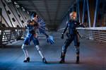 Kitana vs Cassie Cage - Mortal Kombat X