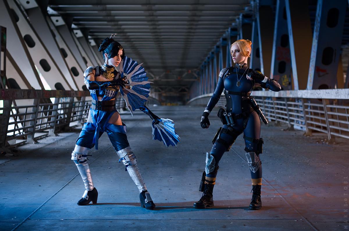 Kitana Vs Cassie Cage Mortal Kombat X By Narga Lifestream On