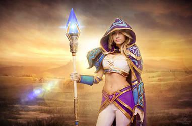 Warcraft III - Jaina Proudmoore cosplay