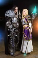 Arthas and Jaina cosplay by Narga-Lifestream