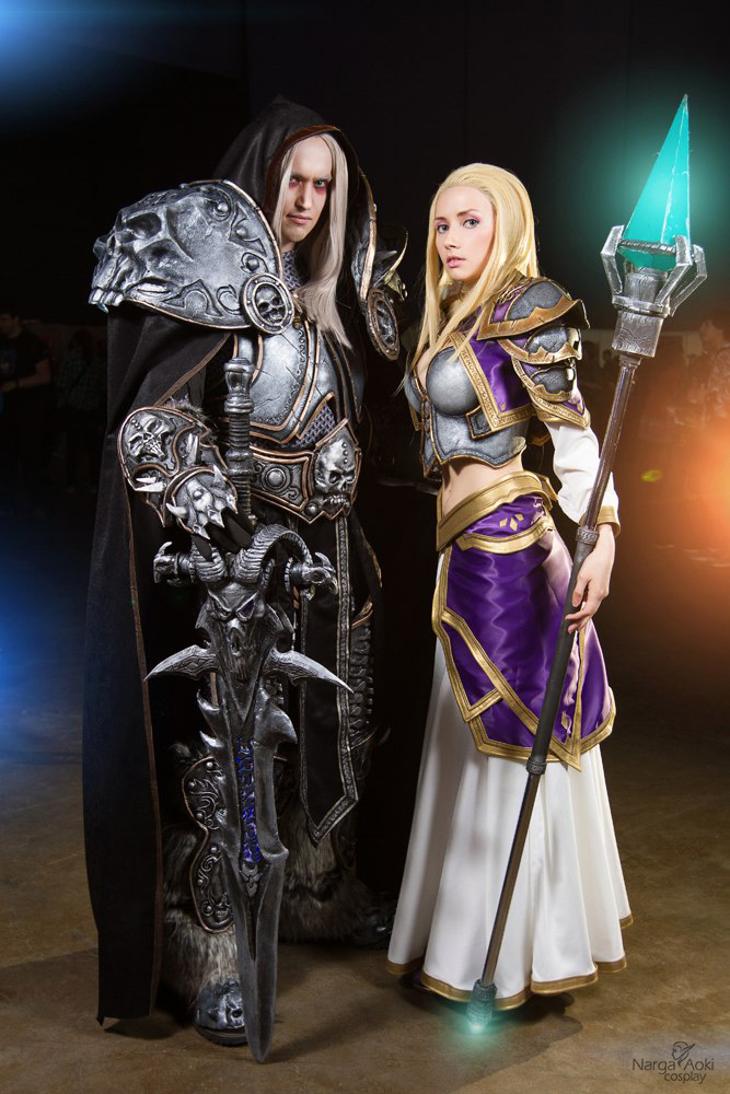 Arthas and Jaina cosplay by Narga-Lifestream on DeviantArt