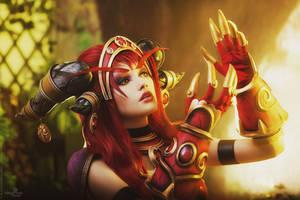 Alexstrasza cosplay - Life goes on by Narga-Lifestream