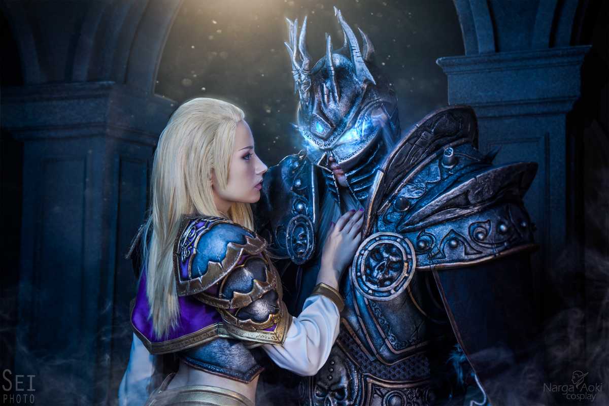 Arthas and Jaina - Lost love by Narga-Lifestream
