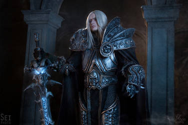 Warcraft cosplay - King Arthas by Narga-Lifestream