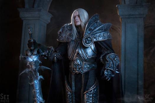 Warcraft cosplay - King Arthas