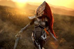 Dawn of War III - Eldar Howling Banshee by Narga-Lifestream