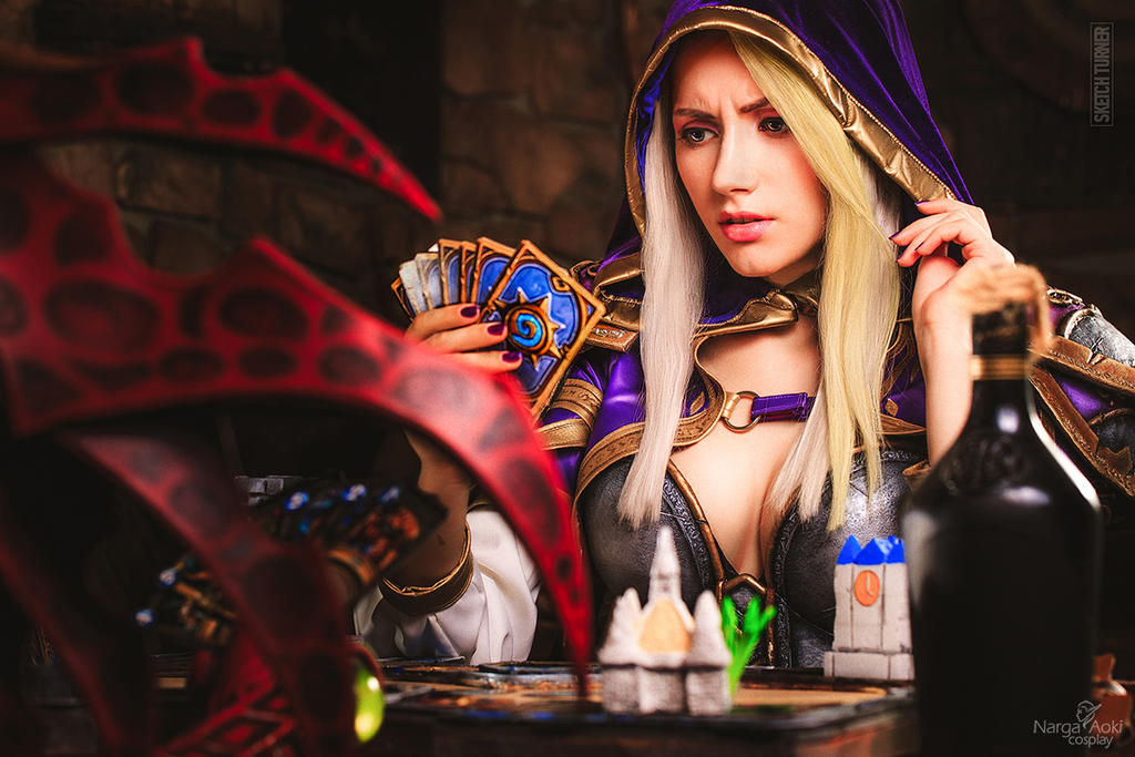 jaina: hearthstone - oops!narga-lifestream on deviantart