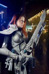 Khaine, guide my blade by Narga-Lifestream