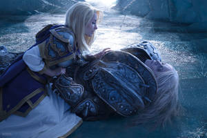 Arthas and Jaina - Fall of the Lich King
