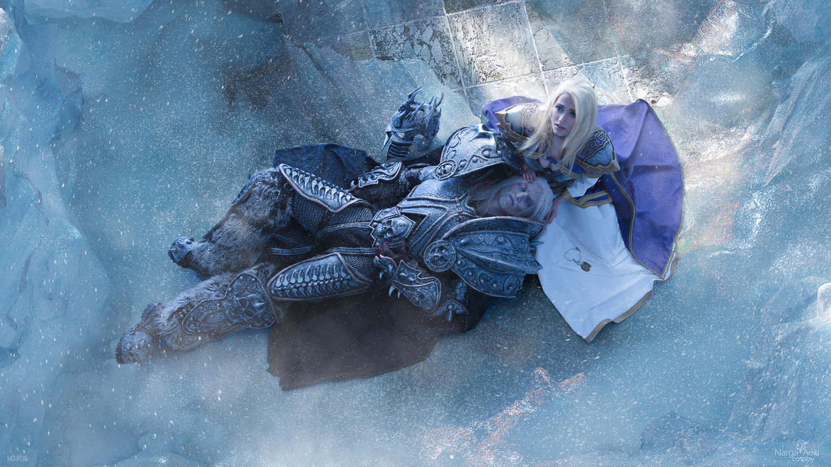 Arthas and Jaina - End of an Era by Narga-Lifestream