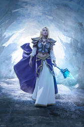 Jaina Proudmoore - Halls of Reflection by Narga-Lifestream