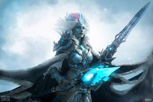 Frost Lich Jaina - Knights of the Frozen Throne