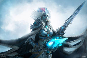 Frost Lich Jaina - Knights of the Frozen Throne