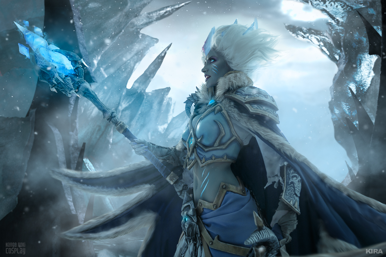 Frost Lich Jaina VII by Narga-Lifestream on DeviantArt