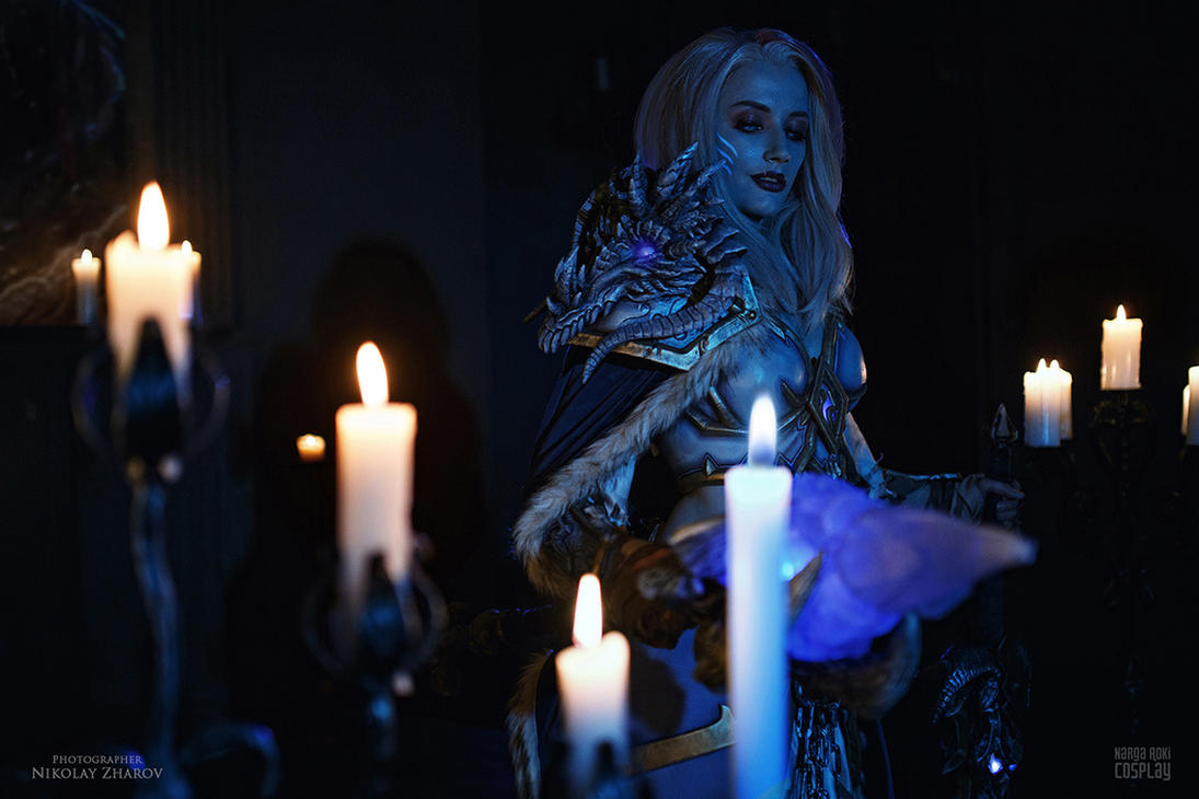 Frost Lich Jaina - Some like it cold by Narga-Lifestream