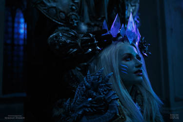 Jaina and Arthas - Crown for the Queen