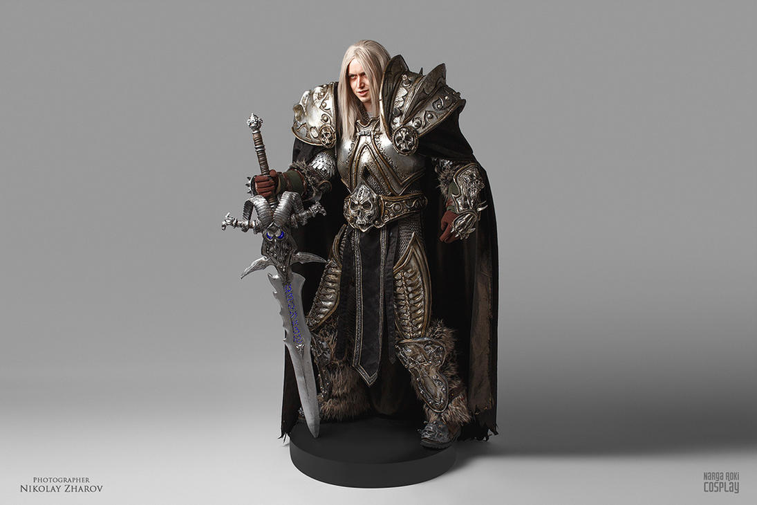 Real-life action figure: Arthas by Narga-Lifestream