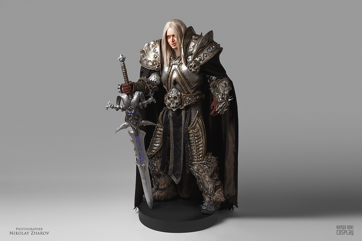 Real-life action figure: Arthas by Narga-Lifestream