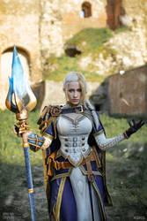 Jaina Proudmoore - New Admiral by Narga-Lifestream